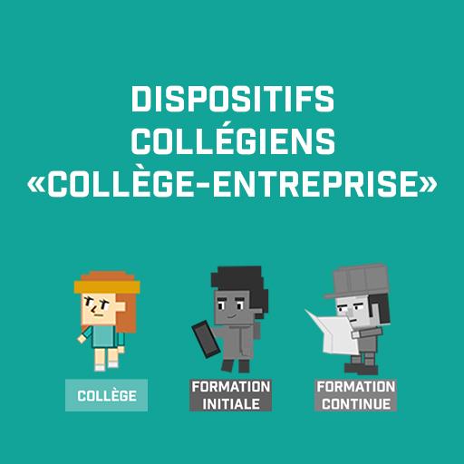 Dispositifs collégiens «collège-entreprise»