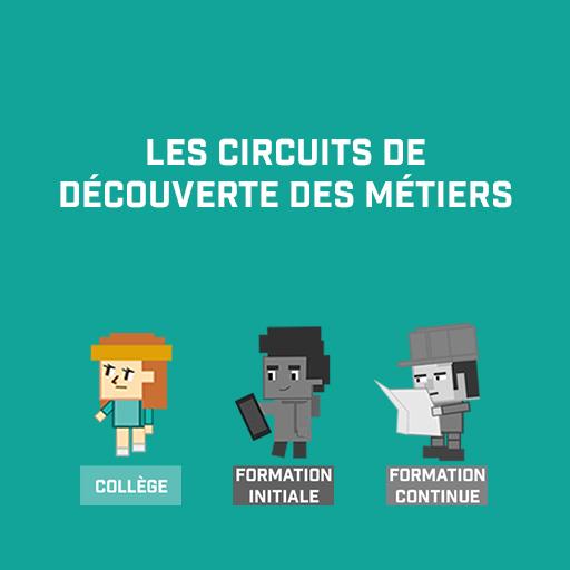 Les Circuits de découverte des métiers